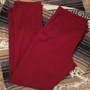 Forever21 Men's Red Chinos